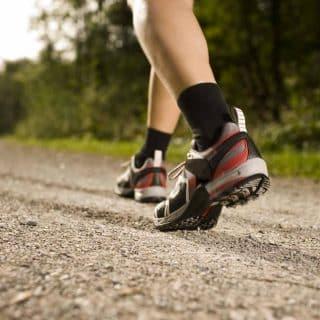 Tip 1 - varicose veins - Regular walking and Exercise